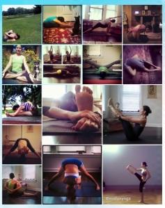 15 days of yogachallenge #shegotlegs