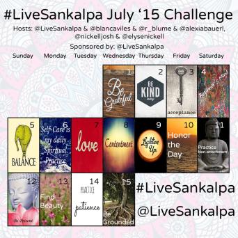 Sankalpa June Challenge